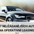 7 nejžádanějších aut na operativní leasing