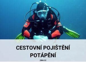 Potápěš má cestovní pojištění potápění