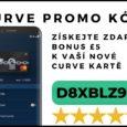 Curve karta bonus 5 liber. Zadejte promokód D8XBLZ9E