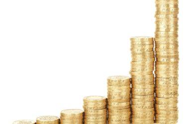 Jak vytvořit rozpočet (Mince naskládané na sebe)