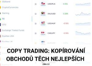 sociální obchodování pomocí copy tradingu