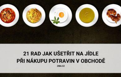 Rady jak ušetřit na jídle
