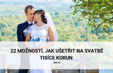 22 možností, jak ušetřit na svatbě tisíce korun