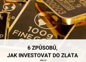 6 způsobů, jak investovat do zlata