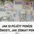 Možnosti, jak si půjčit peníze