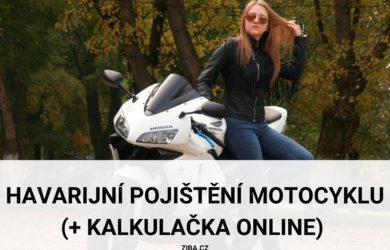Nejlepší havarijní pojištění motocyklu
