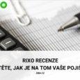 Rixo recenze aneb zjistěte, jak je na tom vaše pojištění