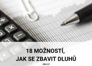 18 možností, jak se zbavit dluhů