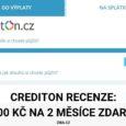 Credion recenze rychlé půjčky