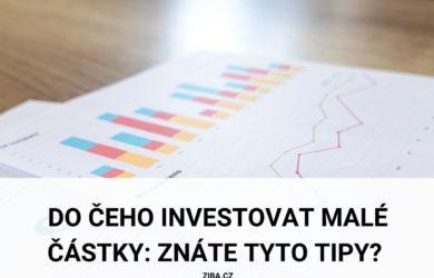 Do čeho investovat malé částky