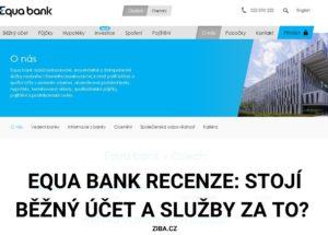 Equa bank recenze
