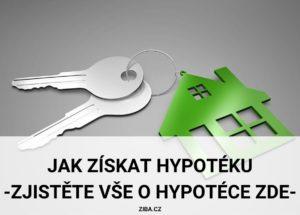 Jak získat hypotéku