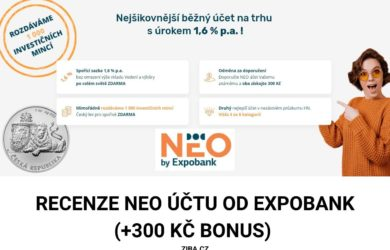 Expobank Neo účet recenze