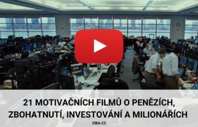 Motivační filmy o penězích, zbohatnutí, investování a milionářích