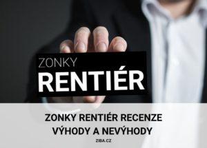 Zonky Rentiér recenze