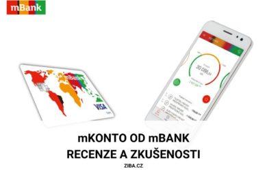 mBank recenze běžného účtu mKonto