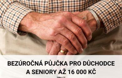 Půjčka pro důchodce a seniory