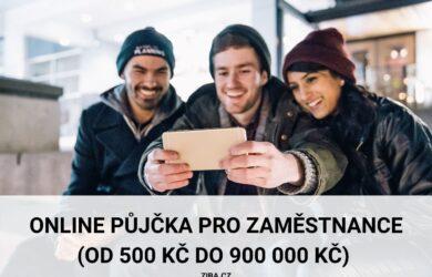 Půjčka pro zaměstnance až 900000 Kč