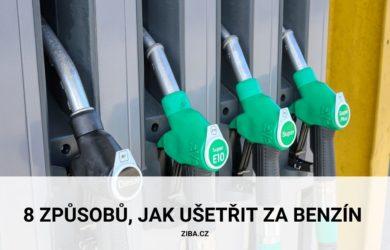 8 způsobů, jak ušetřit za benzín