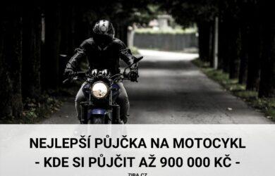 Nejlepší půjčka na motocykl až 900000 Kč