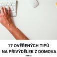 17 tipů na přivýdělek z domova