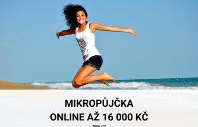 Mikropůjčka online až 16 000 Kč