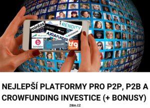 Nejlepší P2P platformy pro P2P investice
