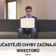 Nejčastější chyby investorů