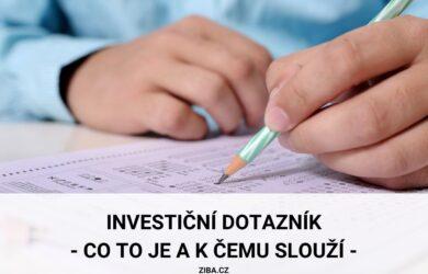 Investiční dotazník