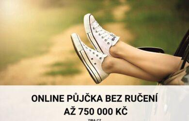 Online půjčka bez ručení až 750 000 Kč