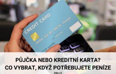 Půjčka nebo kreditní karta