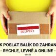 Jak poslat balík do zahraničí
