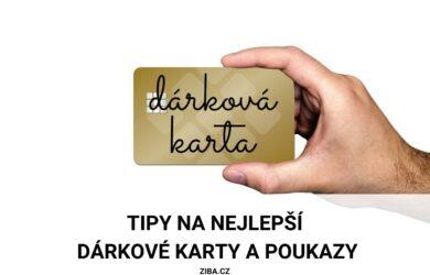 Nejlepší dárkové karty a dárkové poukazy