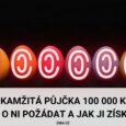 Okamžitá půjčka 100 000 Kč
