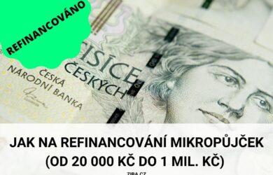 Refinancování mikropůjček: ka a jak refinancovat od 20000 Kč