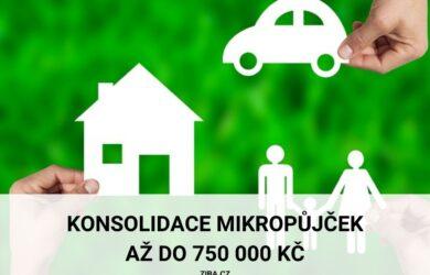 konsolidace mikropůjček až 750000 kč