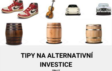 tipy na alternativní investice