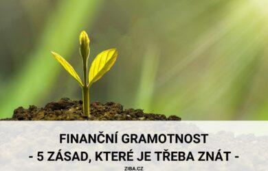 Finanční gramotnost a její zásady