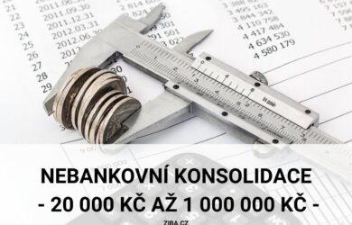 Nebankovní konsolidace online