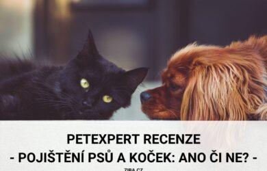 PetExpert recenze o pojištění psů a koček