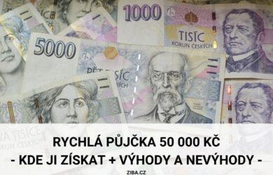 Půjčka 50000 Kč
